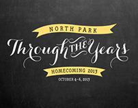 NPU's 2013 Homecoming Graphics & Marketing Materials