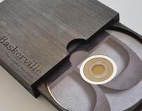 Baskerville Font promotion and CD Case