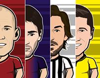 56 football players 2012/2013 season