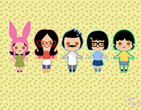 The Belcher Family- Bob's Burgers