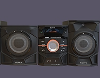 Sony MHC EX900 - 3D Model