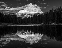 B/W - Dolomites II