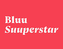 Bluu Suuperstar Font