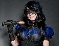 Steampunk/Victorian Nightwing Costume
