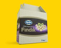 Aydın Kuruyemiş Packaging Design