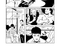 """""""BULLIES"""" Batman pages"""