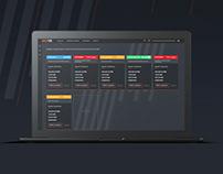 Keeper — дизайн концепт UI/UX