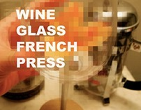 Wine Glass French Press