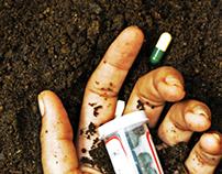 Las drogas te entierran