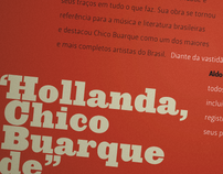 Hollanda, Chico Buarque de
