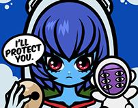Neon Genesis Evangelion Fan Art #1~#5