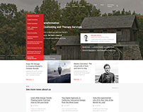 Consulting & Therapy Services Web Design