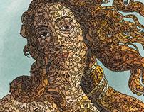Venus de Milo doodleart