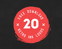 FREE DOWNLOAD 20 Ink Logos