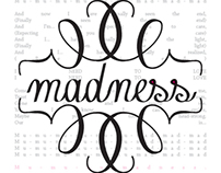 MUSE Madness Typographic Book