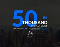 50K Project Views