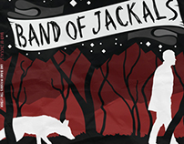 Band of Jackals T-Shirt and Ep Cover design