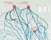 Brighton Resort Trail Map