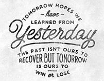 Tomorrow Hopes...