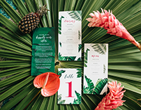 Courtney & Matt Wedding Welcome Dinner Stationery