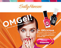 COTY | Sally Hansen | MiracleGel | Launch | 2015