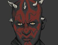 Star Wars Portait: Darth Maul
