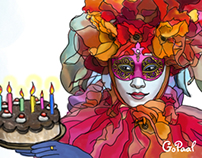 Digital Illustrations for GoPaal Greetings