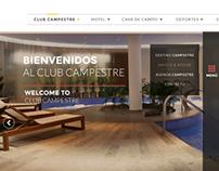 Web page - Club Campestre Bucaramanga.