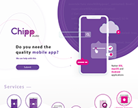 Chipp studio [landing & logo]