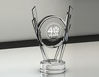 Trophy design 3d