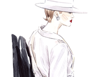 Fashion Illustration / Runway