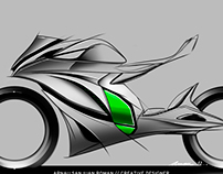 Honda Motorcycles Concept Sketches