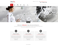 Metropolis Clean Multipurpose Theme