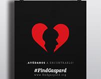 FIND GASPARD // Poster