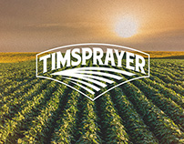 Timsprayer Logo & Business Card