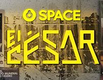 Space-El César Rueda de Prensa