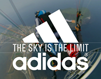 The Sky is the limit - adidas promotion