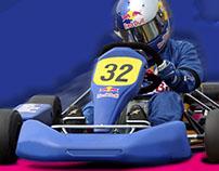 Affiche 1er championnat de Belgique Karting 4T