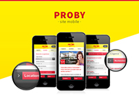 Proby - Site mobile