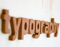 Ceramic Typography