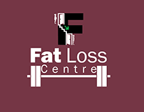 fat loss gym logo design