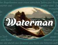 Waterman a New Typeface Release