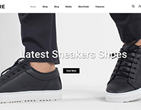 FitMore - Shoes Store WooCommerce Theme
