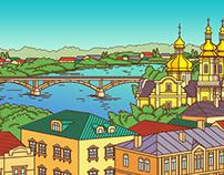 Kyiv/ Lviv/ Odessa/ Kharkiv/ Vinnitsa/ Carpathians