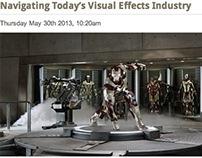 "PR Blog Story: ""Navigating Today's VFX Industry"""