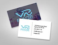 VR Rage Business Cards