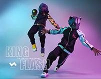 KING & FLASH 力與速的角逐