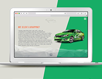 Grafiwrap - Carwrapping films webdesign