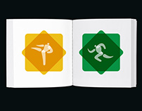 Pictogram Family for Olympics 2020