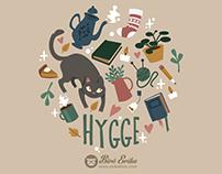 Hygge Living pattern design
